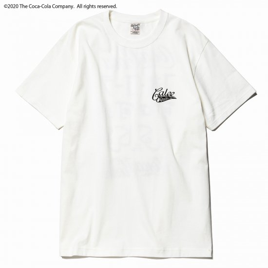 <img class='new_mark_img1' src='https://img.shop-pro.jp/img/new/icons50.gif' style='border:none;display:inline;margin:0px;padding:0px;width:auto;' />CALEE COCA-COLA collaboration international logo t-shirt