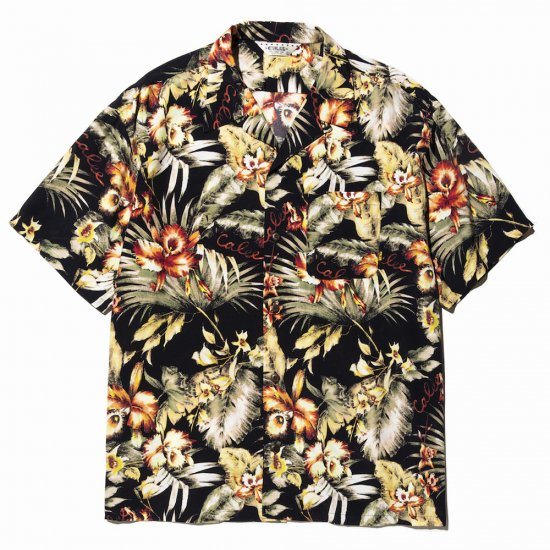 <img class='new_mark_img1' src='//img.shop-pro.jp/img/new/icons50.gif' style='border:none;display:inline;margin:0px;padding:0px;width:auto;' />CALEE Hawaiian S/S shirt