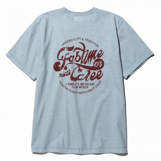 <img class='new_mark_img1' src='https://img.shop-pro.jp/img/new/icons50.gif' style='border:none;display:inline;margin:0px;padding:0px;width:auto;' />CALEE Binder neck fab time t-shirt