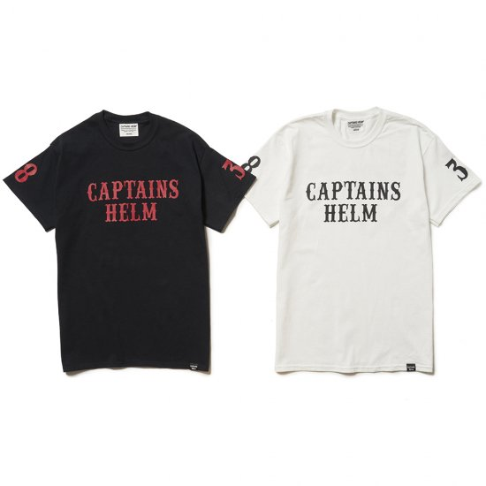 <img class='new_mark_img1' src='//img.shop-pro.jp/img/new/icons50.gif' style='border:none;display:inline;margin:0px;padding:0px;width:auto;' />CAPTAINS HELM × SUNNY C SIDER #LOCALS LOGO S/S TEE