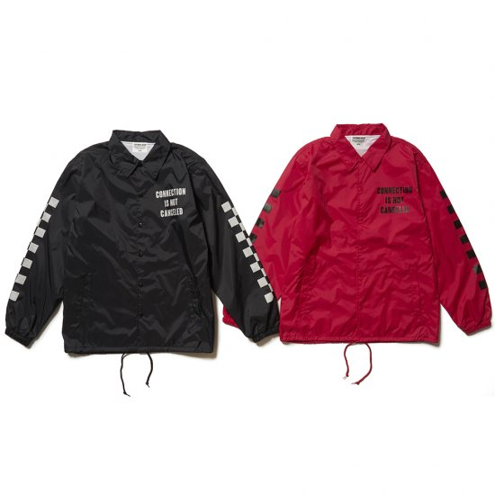 <img class='new_mark_img1' src='//img.shop-pro.jp/img/new/icons50.gif' style='border:none;display:inline;margin:0px;padding:0px;width:auto;' />CAPTAINS HELM × SUNNY C SIDER #CHECKER LOGO COACH JACKET
