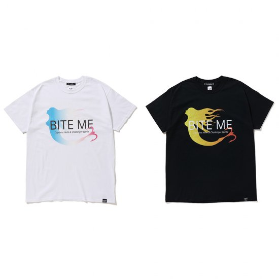 <img class='new_mark_img1' src='https://img.shop-pro.jp/img/new/icons12.gif' style='border:none;display:inline;margin:0px;padding:0px;width:auto;' />CAPTAINS HELM × CHALLENGER  #BITE ME TEE
