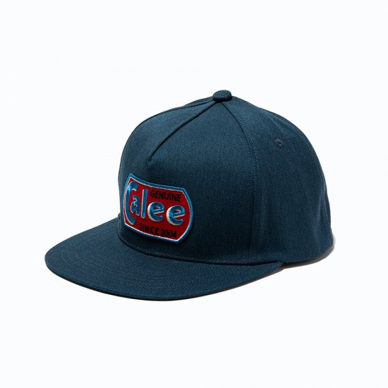 <img class='new_mark_img1' src='https://img.shop-pro.jp/img/new/icons50.gif' style='border:none;display:inline;margin:0px;padding:0px;width:auto;' />CALEE T/C Twill logo wappen cap