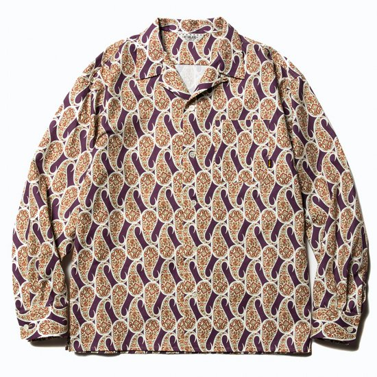 <img class='new_mark_img1' src='https://img.shop-pro.jp/img/new/icons16.gif' style='border:none;display:inline;margin:0px;padding:0px;width:auto;' />CALEE Allover paisley pattern L/S shirt
