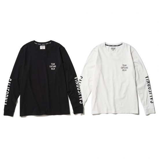 <img class='new_mark_img1' src='https://img.shop-pro.jp/img/new/icons50.gif' style='border:none;display:inline;margin:0px;padding:0px;width:auto;' />CAPTAINS HELM #CALIFORNIA L/S TEE