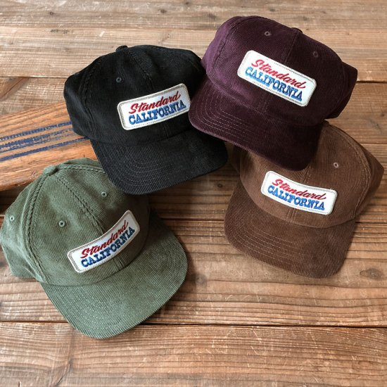 <img class='new_mark_img1' src='https://img.shop-pro.jp/img/new/icons12.gif' style='border:none;display:inline;margin:0px;padding:0px;width:auto;' />STANDARD CALIFORNIA SD Logo Patch Corduroy Cap