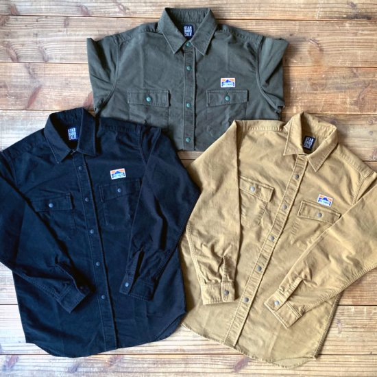 <img class='new_mark_img1' src='https://img.shop-pro.jp/img/new/icons12.gif' style='border:none;display:inline;margin:0px;padding:0px;width:auto;' />STANDARD CALIFORNIA SD Stretch Moleskin Classic Field Shirt