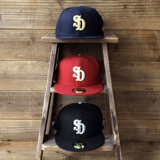 <img class='new_mark_img1' src='https://img.shop-pro.jp/img/new/icons12.gif' style='border:none;display:inline;margin:0px;padding:0px;width:auto;' />STANDARD CALIFORNIA NEW ERA × SD 59Fifty Logo Cap