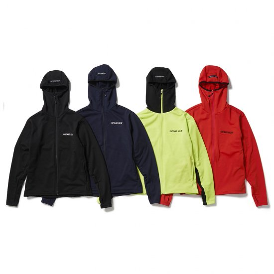 <img class='new_mark_img1' src='https://img.shop-pro.jp/img/new/icons12.gif' style='border:none;display:inline;margin:0px;padding:0px;width:auto;' />CAPTAINS HELM #BLOCK THERMAL 2nd LAYER HOODIE