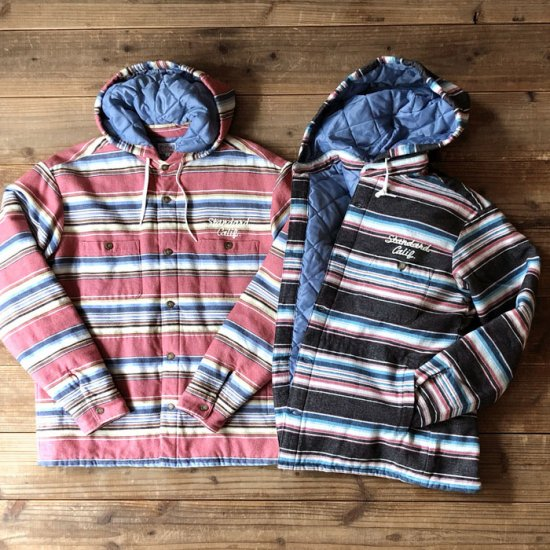 <img class='new_mark_img1' src='https://img.shop-pro.jp/img/new/icons12.gif' style='border:none;display:inline;margin:0px;padding:0px;width:auto;' />STANDARD CALIFORNIA SD Southwest Flannel Quilted Hood Jacket