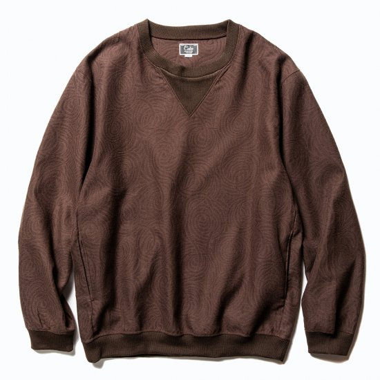 <img class='new_mark_img1' src='https://img.shop-pro.jp/img/new/icons50.gif' style='border:none;display:inline;margin:0px;padding:0px;width:auto;' />CALEE Allover Spiral pattern pullover shirt