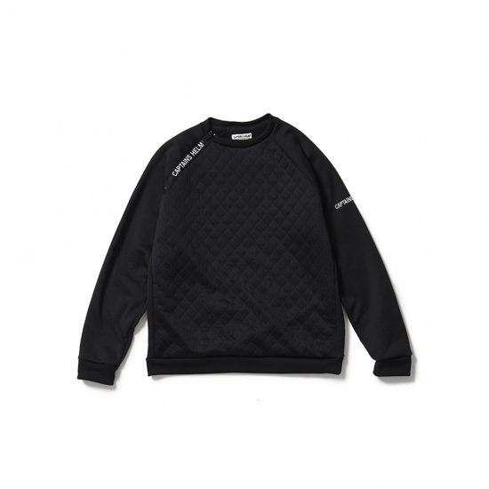 <img class='new_mark_img1' src='https://img.shop-pro.jp/img/new/icons50.gif' style='border:none;display:inline;margin:0px;padding:0px;width:auto;' />CAPTAINS HELM #QUILTED TEC SWEAT