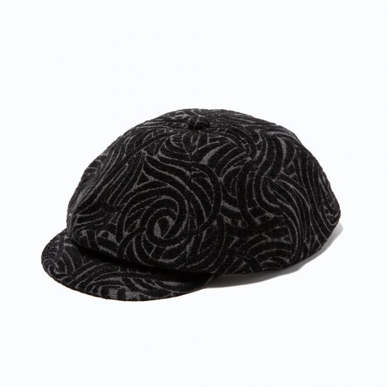 <img class='new_mark_img1' src='https://img.shop-pro.jp/img/new/icons12.gif' style='border:none;display:inline;margin:0px;padding:0px;width:auto;' />CALEE Allover spiral pattern casquette