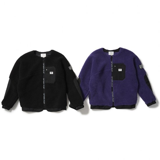 <img class='new_mark_img1' src='https://img.shop-pro.jp/img/new/icons50.gif' style='border:none;display:inline;margin:0px;padding:0px;width:auto;' />CAPTAINS HELM #NO COLLAR BOA FLEECE JACKET