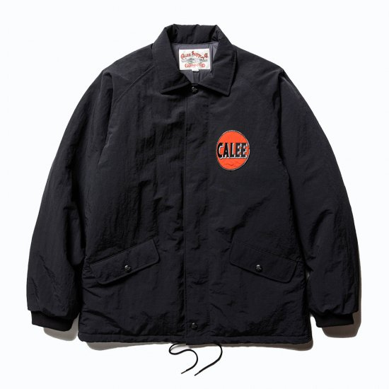 <img class='new_mark_img1' src='https://img.shop-pro.jp/img/new/icons12.gif' style='border:none;display:inline;margin:0px;padding:0px;width:auto;' />CALEE Nylon coach wappen jacket