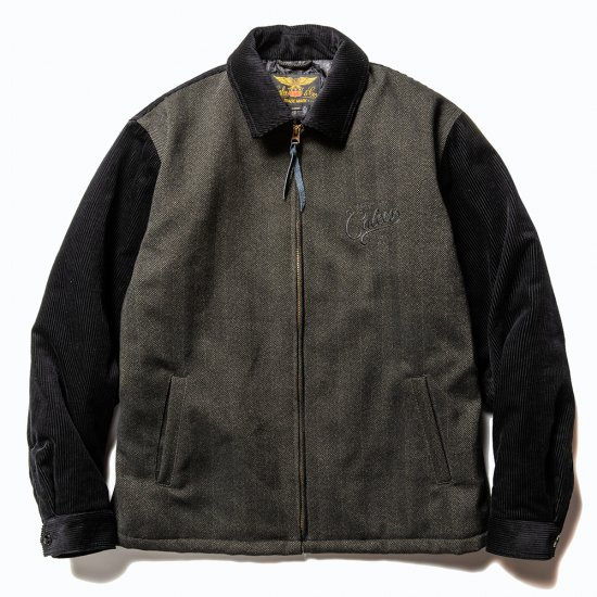 <img class='new_mark_img1' src='https://img.shop-pro.jp/img/new/icons50.gif' style='border:none;display:inline;margin:0px;padding:0px;width:auto;' />CALEE Corduroy/Tweed sports type jacket
