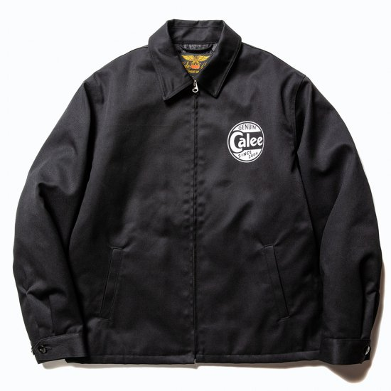 <img class='new_mark_img1' src='https://img.shop-pro.jp/img/new/icons12.gif' style='border:none;display:inline;margin:0px;padding:0px;width:auto;' />CALEE T/C Twill work jacket