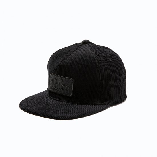 <img class='new_mark_img1' src='https://img.shop-pro.jp/img/new/icons12.gif' style='border:none;display:inline;margin:0px;padding:0px;width:auto;' />CALEE Corduroy leather wappen cap