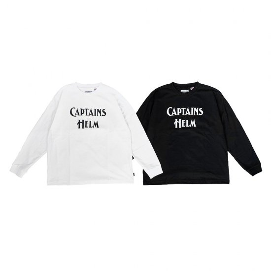 <img class='new_mark_img1' src='https://img.shop-pro.jp/img/new/icons12.gif' style='border:none;display:inline;margin:0px;padding:0px;width:auto;' />CAPTAINS HELM #BACTERIA-PROOF LOGO L/S TEE