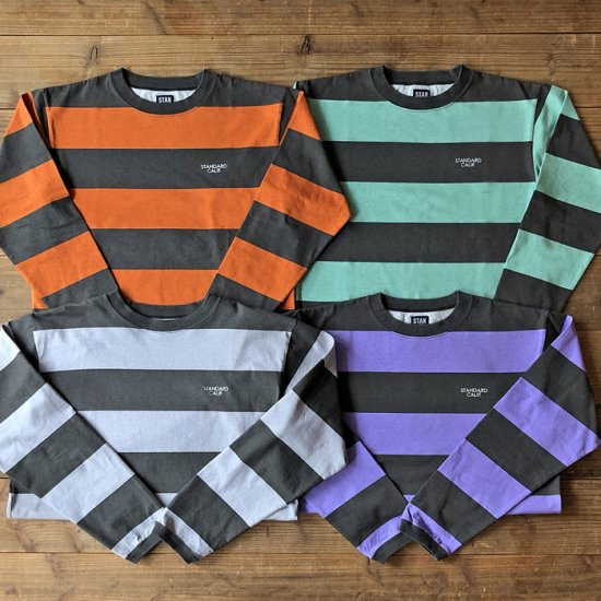 <img class='new_mark_img1' src='https://img.shop-pro.jp/img/new/icons50.gif' style='border:none;display:inline;margin:0px;padding:0px;width:auto;' />STANDARD CALIFORNIA SD Print Border Long Sleeve T