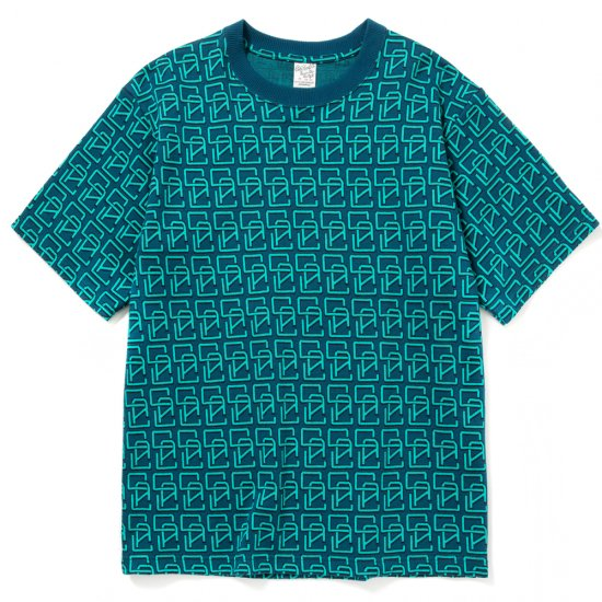 <img class='new_mark_img1' src='https://img.shop-pro.jp/img/new/icons12.gif' style='border:none;display:inline;margin:0px;padding:0px;width:auto;' />CALEE Allover monogram pattern drop shoulder t-shirt