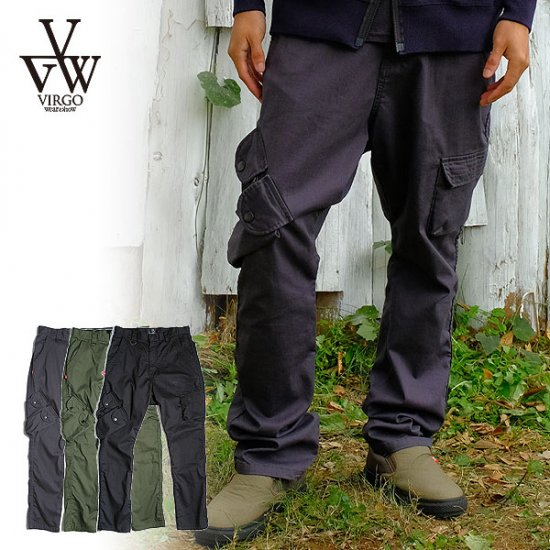 <img class='new_mark_img1' src='https://img.shop-pro.jp/img/new/icons12.gif' style='border:none;display:inline;margin:0px;padding:0px;width:auto;' />VIRGO SPECIAL PETAURISTA CARGO PANTS