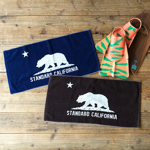 <img class='new_mark_img1' src='https://img.shop-pro.jp/img/new/icons50.gif' style='border:none;display:inline;margin:0px;padding:0px;width:auto;' />STANDARD CALIFORNIA SD Cal Flag Hand Towel
