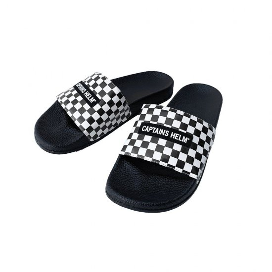 <img class='new_mark_img1' src='https://img.shop-pro.jp/img/new/icons12.gif' style='border:none;display:inline;margin:0px;padding:0px;width:auto;' />CAPTAINS HELM #CHECKER SHOWER SANDAL