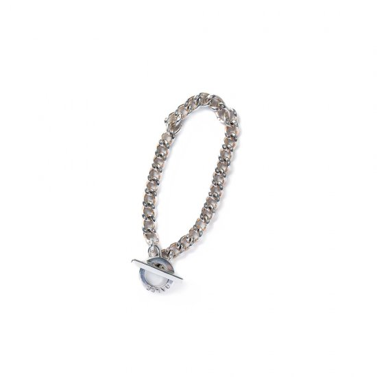 <img class='new_mark_img1' src='https://img.shop-pro.jp/img/new/icons50.gif' style='border:none;display:inline;margin:0px;padding:0px;width:auto;' />CALEE Silver chain bracelet