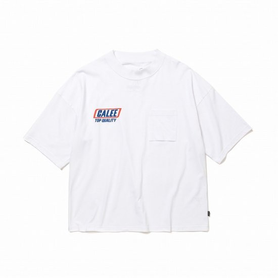 <img class='new_mark_img1' src='https://img.shop-pro.jp/img/new/icons50.gif' style='border:none;display:inline;margin:0px;padding:0px;width:auto;' />CALEE × SHELTECH Drop shoulder t-shirt
