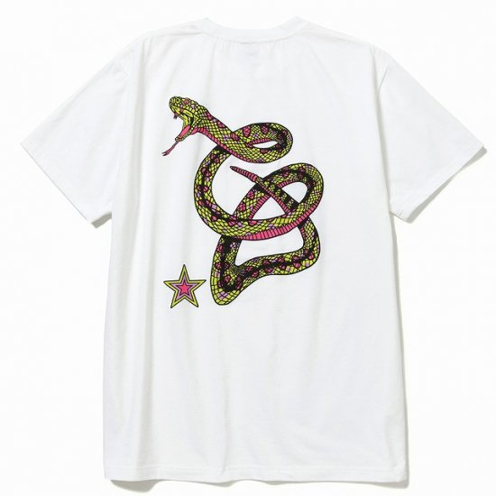 <img class='new_mark_img1' src='https://img.shop-pro.jp/img/new/icons50.gif' style='border:none;display:inline;margin:0px;padding:0px;width:auto;' />CALEE Stretch snake logo t-shirt