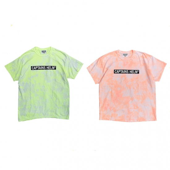 <img class='new_mark_img1' src='https://img.shop-pro.jp/img/new/icons50.gif' style='border:none;display:inline;margin:0px;padding:0px;width:auto;' />CAPTAINS HELM #NEON TIE-DYE TEE