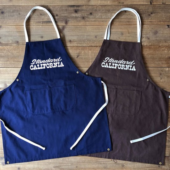 <img class='new_mark_img1' src='https://img.shop-pro.jp/img/new/icons12.gif' style='border:none;display:inline;margin:0px;padding:0px;width:auto;' />STANDARD CALIFORNIA SD Canvas Apron