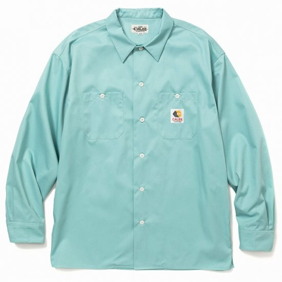 <img class='new_mark_img1' src='https://img.shop-pro.jp/img/new/icons12.gif' style='border:none;display:inline;margin:0px;padding:0px;width:auto;' />CALEE T/C Twill L/S work shirt