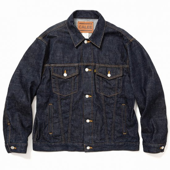 <img class='new_mark_img1' src='https://img.shop-pro.jp/img/new/icons12.gif' style='border:none;display:inline;margin:0px;padding:0px;width:auto;' />CALEE Vintage reproduct 3rd type ow denim jacket