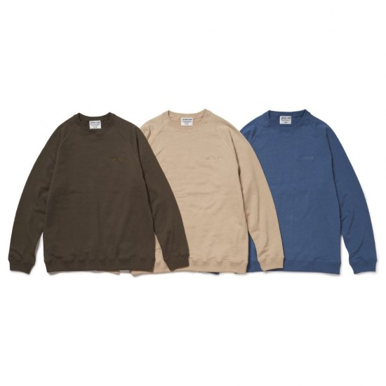 <img class='new_mark_img1' src='https://img.shop-pro.jp/img/new/icons50.gif' style='border:none;display:inline;margin:0px;padding:0px;width:auto;' />CAPTAINS HELM #RECYCLE COTTON SWEAT
