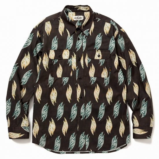 <img class='new_mark_img1' src='https://img.shop-pro.jp/img/new/icons12.gif' style='border:none;display:inline;margin:0px;padding:0px;width:auto;' />CALEE Fallen leaves pattern L/S shirt