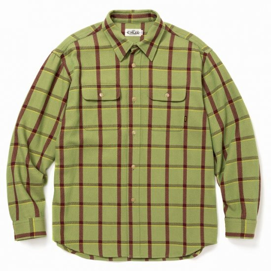 <img class='new_mark_img1' src='https://img.shop-pro.jp/img/new/icons12.gif' style='border:none;display:inline;margin:0px;padding:0px;width:auto;' />CALEE 6/6 Twill L/S check shirt