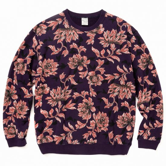 <img class='new_mark_img1' src='https://img.shop-pro.jp/img/new/icons12.gif' style='border:none;display:inline;margin:0px;padding:0px;width:auto;' />CALEE Allover flower pattern crew neck sweat