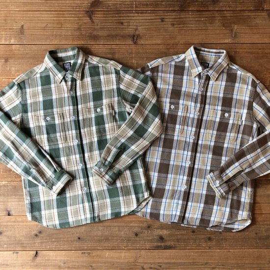 <img class='new_mark_img1' src='https://img.shop-pro.jp/img/new/icons12.gif' style='border:none;display:inline;margin:0px;padding:0px;width:auto;' />STANDARD CALIFORNIA SD Flannel Check Shirt