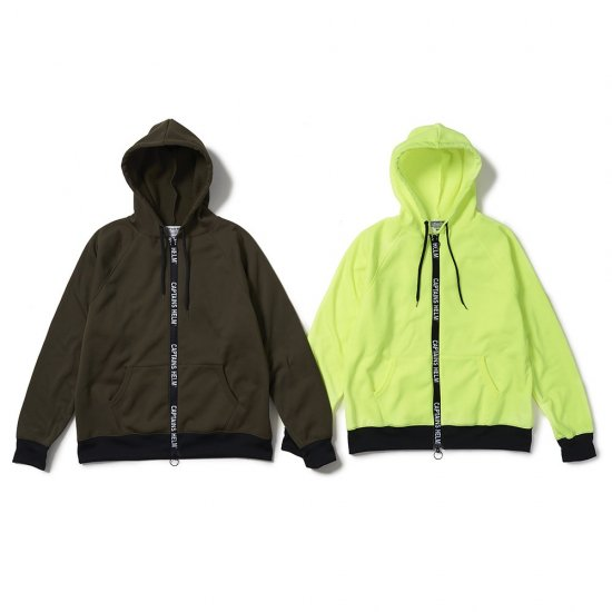 <img class='new_mark_img1' src='https://img.shop-pro.jp/img/new/icons12.gif' style='border:none;display:inline;margin:0px;padding:0px;width:auto;' />CAPTAINS HELM #TRADEMARK ZIP TEC HOODIE