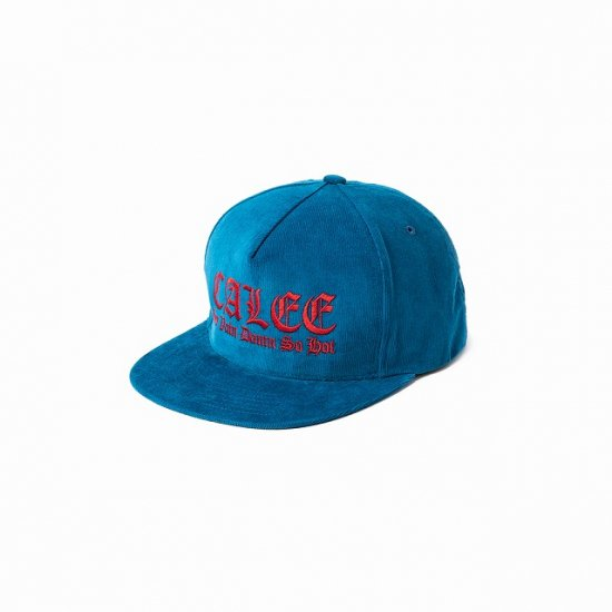 <img class='new_mark_img1' src='https://img.shop-pro.jp/img/new/icons12.gif' style='border:none;display:inline;margin:0px;padding:0px;width:auto;' />CALEE Embroidery corduroy cap