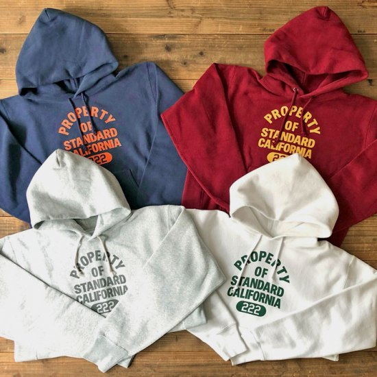 <img class='new_mark_img1' src='https://img.shop-pro.jp/img/new/icons12.gif' style='border:none;display:inline;margin:0px;padding:0px;width:auto;' />STANDARD CALIFORNIA Champion × SD Reverse Weave Hood Sweat