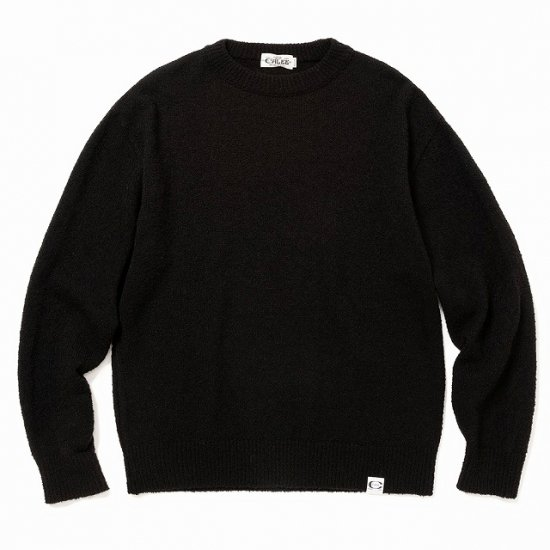<img class='new_mark_img1' src='https://img.shop-pro.jp/img/new/icons50.gif' style='border:none;display:inline;margin:0px;padding:0px;width:auto;' />CALEE 7 Gauge crew neck boucle knit sweater