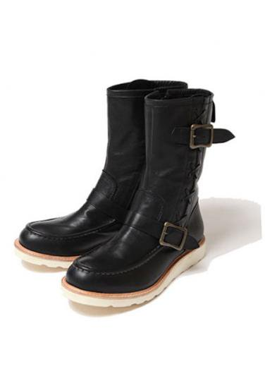 <img class='new_mark_img1' src='https://img.shop-pro.jp/img/new/icons47.gif' style='border:none;display:inline;margin:0px;padding:0px;width:auto;' />VIRGO NATIVE ENGINEER BOOTS(BLACK LEATHER LIMITED)
