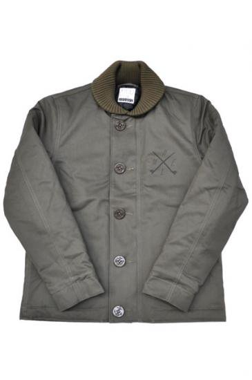 <img class='new_mark_img1' src='https://img.shop-pro.jp/img/new/icons47.gif' style='border:none;display:inline;margin:0px;padding:0px;width:auto;' />CAPTAINS HELM N1 JACKET(OLIVE)
