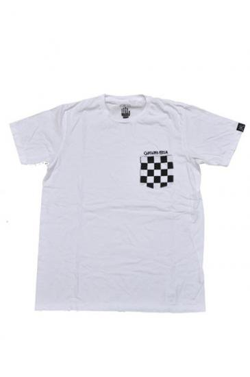 <img class='new_mark_img1' src='//img.shop-pro.jp/img/new/icons47.gif' style='border:none;display:inline;margin:0px;padding:0px;width:auto;' />CAPTAINS HELM POCKET CHECKER TEE(WHITE)