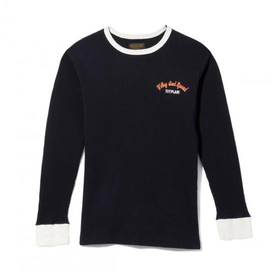 <img class='new_mark_img1' src='https://img.shop-pro.jp/img/new/icons50.gif' style='border:none;display:inline;margin:0px;padding:0px;width:auto;' />TOYPLANE LIGHTNING THERMAL SHIRT