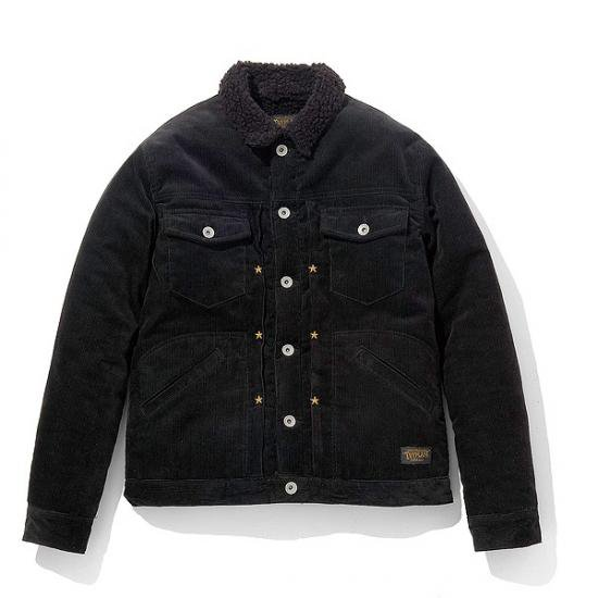 <img class='new_mark_img1' src='https://img.shop-pro.jp/img/new/icons50.gif' style='border:none;display:inline;margin:0px;padding:0px;width:auto;' />TOYPLANE  CORDUROY BOA JACKET
