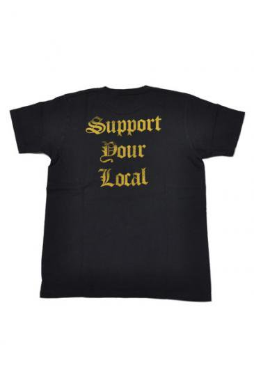 <img class='new_mark_img1' src='https://img.shop-pro.jp/img/new/icons50.gif' style='border:none;display:inline;margin:0px;padding:0px;width:auto;' />CAPTAINS HELM CHT SUPPOURT YOUR LOCAL TEE(BLACK)